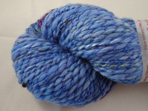 Blue Side Handspun Yarn-