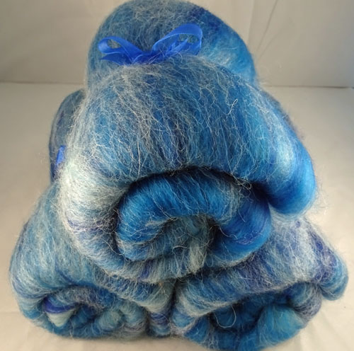 Blue Sky Tones Wool Batts-