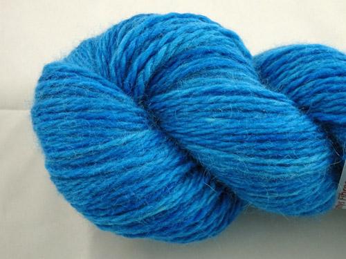 Bright Blue Merino/Angora 80/20 Light 10ply-