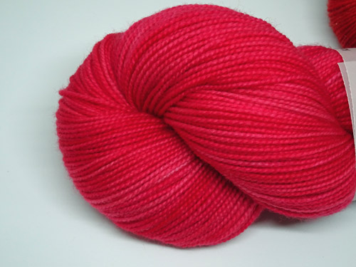 Candy Pink SW Merino Sock Yarn-