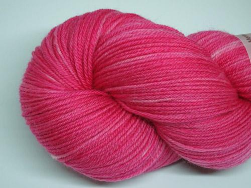 Charli's Pink SW Fine Merino/Nylon Sock Yarn-