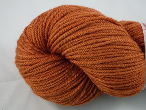 Dark Cinnibar 8ply Sustainable Merino-