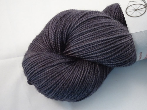 Dark Grease Smudge SW Merino Sock Yarn-