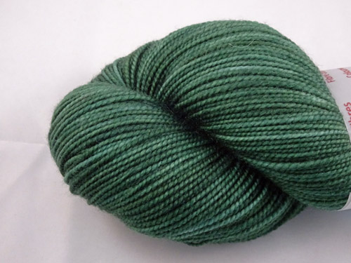 Dark Green SW Merino Sock Yarn-