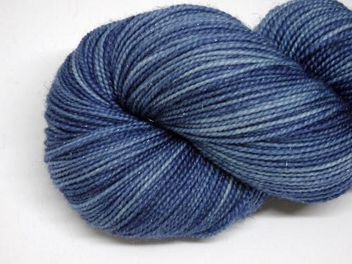 Denim SW Merino/Nylon/Stellina Sock Yarn-