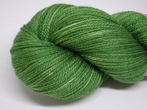 Emerald Merino/Silk Laceweight Yarn-
