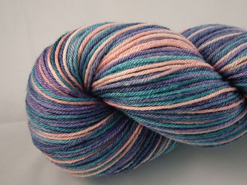 Evening Tide Superwash Merino/Bamboo/Silk Sock Yarn-