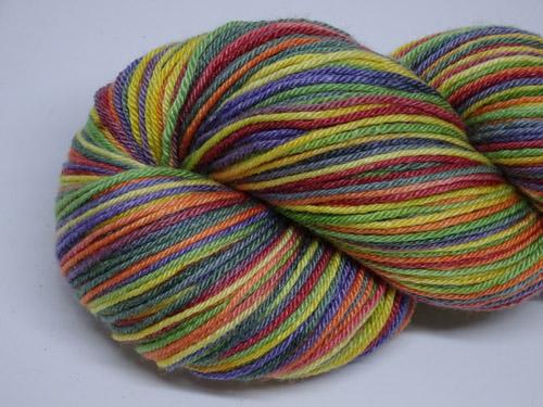 Festival Superwash Merino/Bamboo/Silk Sock Yarn-