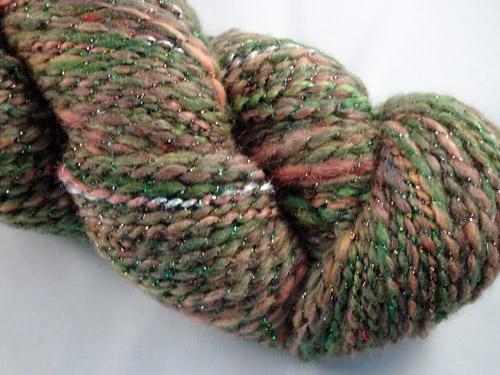 Forest Bling Handspun Yarn-