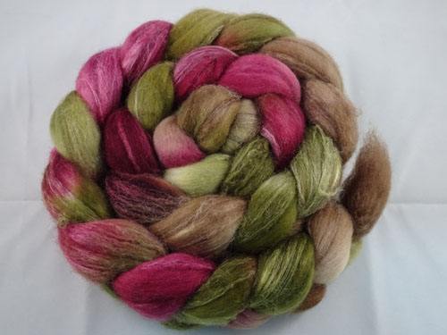 Forest Bloom Merino/Silk tops-
