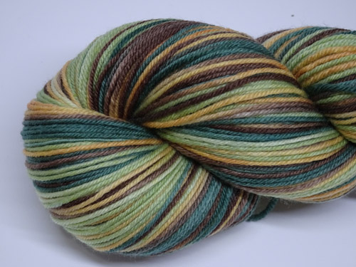 Forest SW Fine Merino/Nylon Sock Yarn-