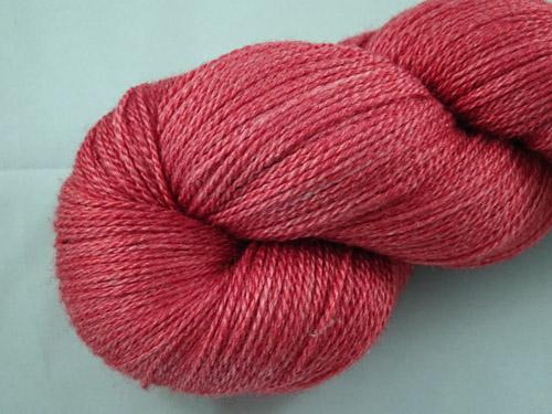 Garnet Merino/Silk Laceweight Yarn-