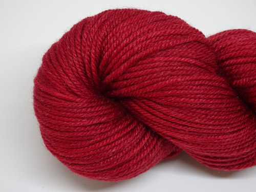 Garnet 8ply Superwash Merino/Nylon Silk Yarn-