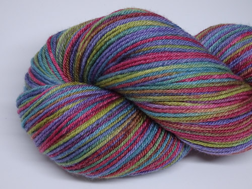 Genevive Superwash Merino/Bamboo/Silk Sock Yarn-