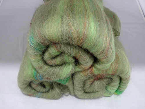 Green Sparkle Batts-