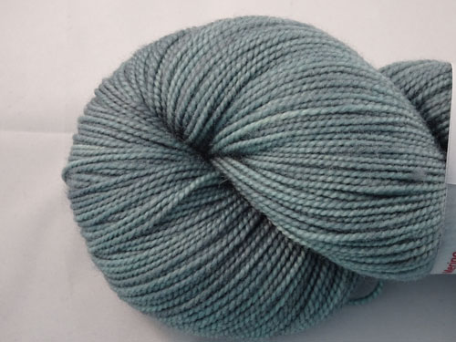 Grey Teal SW Merino Sock Yarn-