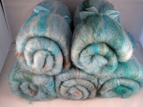 Light Teal Batts-