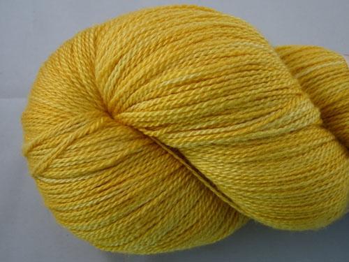 Marigold Merino/Silk Laceweight Yarn-