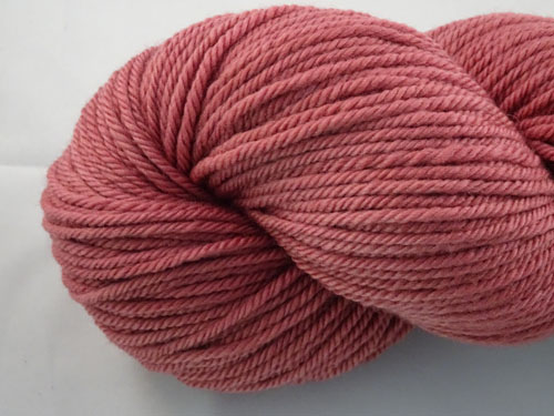 Merlow Pink 8ply Sustainable Merino-