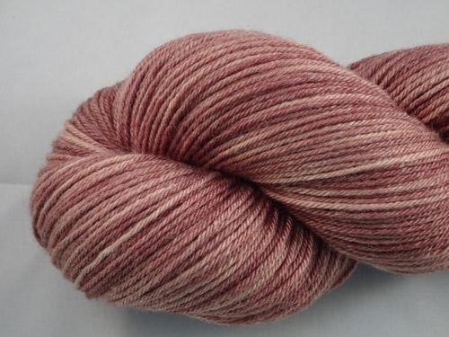 Mid Brown Superwash Merino/Bamboo/Silk Sock Yarn-