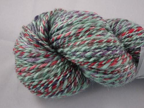 Mint Twirl Handspun Yarn-