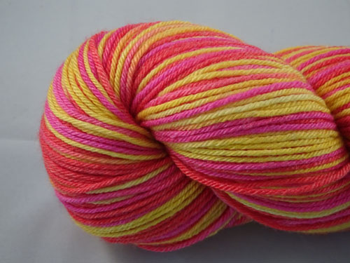 Miss Charli (L) Superwash Merino/Bamboo/Silk Sock Yarn-