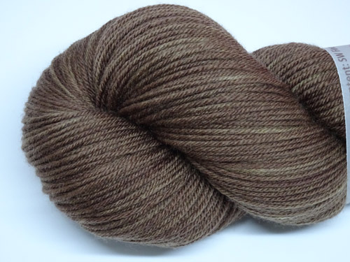 More Chocolate Please SW Fine Merino/Nylon Sock Yarn-