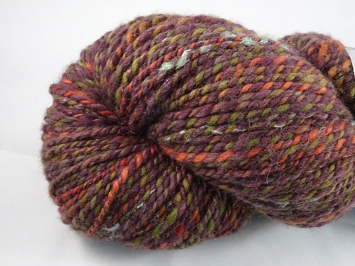 Mottled Bark Handspun Yarn-