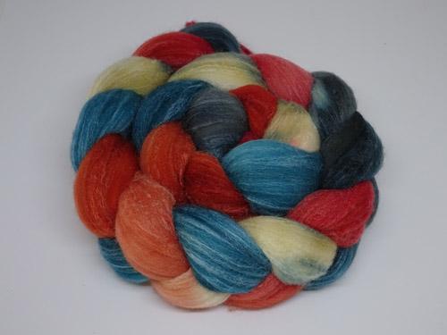 Mouton Rambouillet/Silk top-