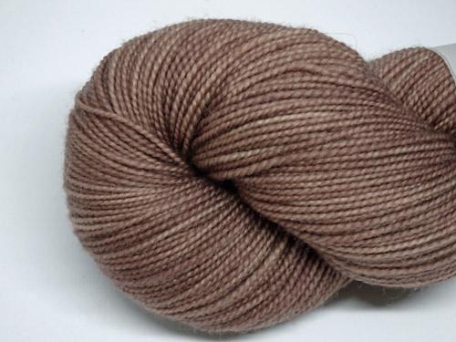 Mushroom Brown SW Merino Sock Yarn-