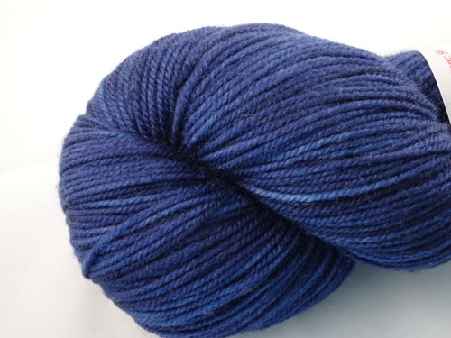 Navy SW Merino/Nylon Sock Yarn-