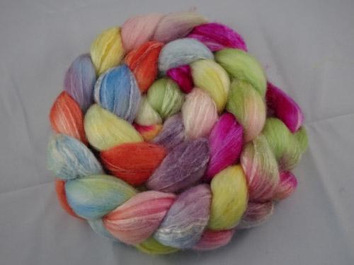 Nell's Flower Garden Merino/Silk tops-