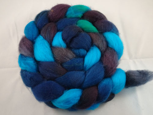 Now That Is Blue Australian SW Merino tops-