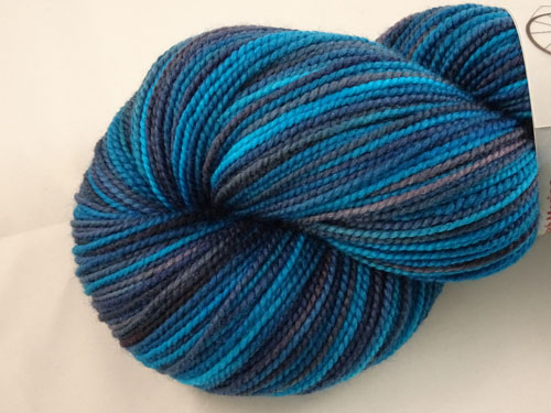 Now That Is Blue SW Merino Sock Yarn-