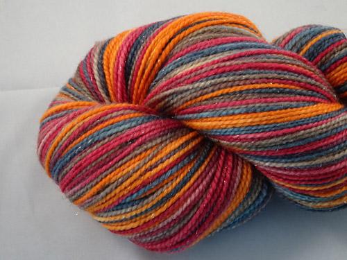 Oori SW Merino/Nylon/Stellina Sock Yarn-
