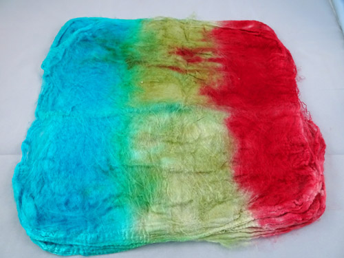 Mulberry Silk Hankies - Opal-
