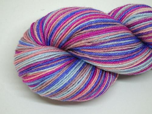 Orchid Superwash Merino/Bamboo/Silk Sock Yarn-