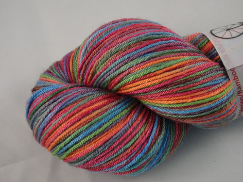 Out Of Africa Superwash Merino/Bamboo/Silk Sock Yarn-