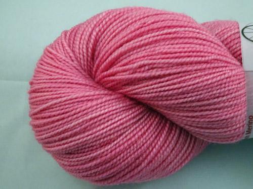 Pale Pink SW Merino Sock Yarn-