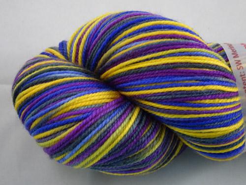 Pansy Mania SW Merino/Nylon Sock Yarn-