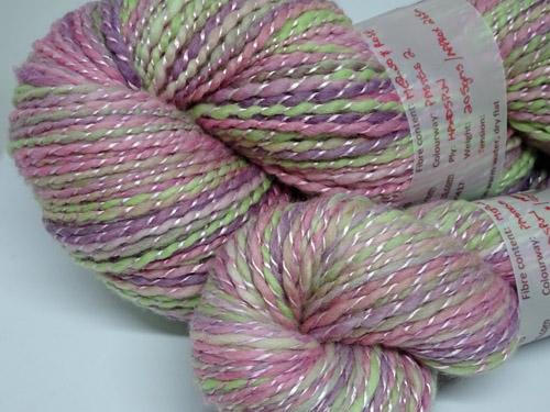 Pastels 2 Handspun Multi Fibre Yarn-