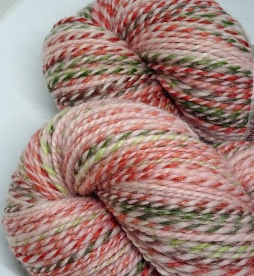 Pink Lush Handspun Multi Fibre Yarn-