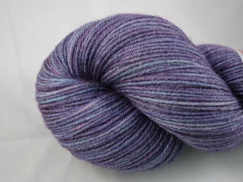 Purple Essence Superwash Merino/Bamboo/Silk Sock Yarn-