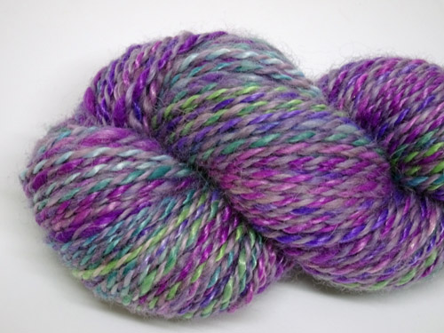 Purple Lush Handspun Yarn-