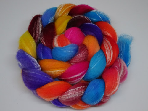 Rainbow Rose Merino/Bamboo tops-