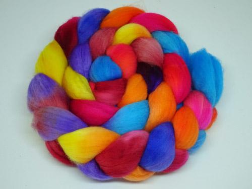 Rainbow Rose Merino/Cashmere tops-