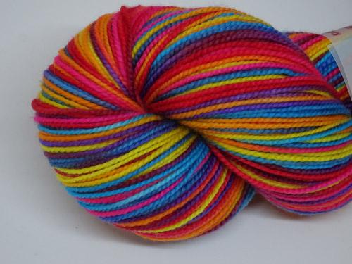 Rainbow Rose SW Merino Sock Yarn-
