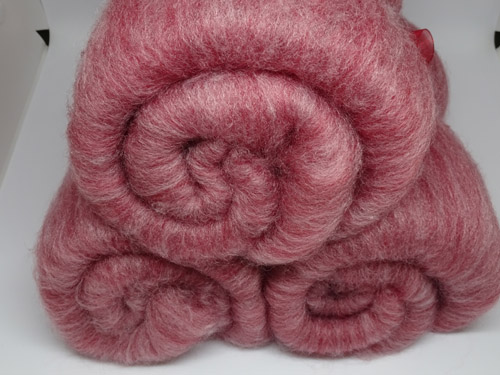 Red Denim SW Merino/Bamboo Batts-