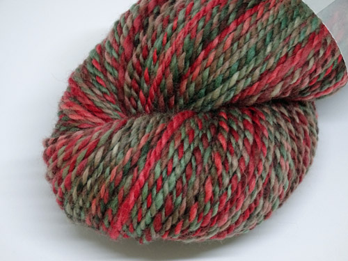 Red Flowering Gum Handspun Yarn-