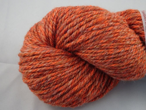 Rowan Orange Handspun Yarn-
